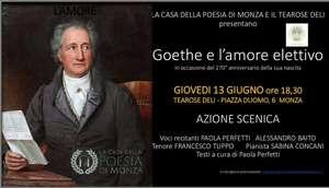 Locandina spettacolo Goethe